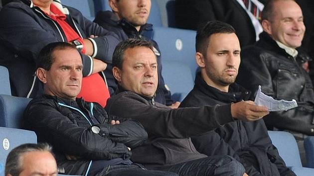 Vladimír Janoško (uprostřed) na Bazalech v roce 2013.