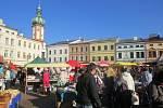 Farmářské trhy ve Frýdku-Místku.