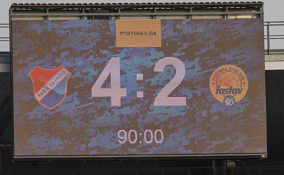 Fotbalisté Baníku Ostrava odehráli v sobotu 15. května 2021 utkání 32. ligového kola se Zlínem.