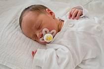 Adam Kaluža z Karviné, narozen 25. března 2021 v Karviné, míra 51 cm, váha 3090 g. Foto: Marek Běhan
