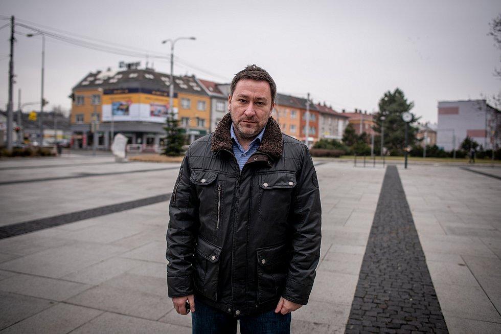 Na snímku starosta obvodu Mariánské Hory a Hulváky, Patrik Hujdus (NEZ), 6. února 2020.
