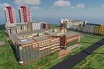 Skupina builderů pod názvem Team Czechoslovakia buduje město Ostrava ve hře Minecraft.