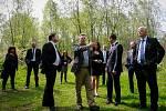 Politická reprezentace zavítala i na prohlídku další ostravské ekologické zátěže - Trojického údolí.