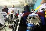 Mistrovství světa ve sledge hokeji, z utkání Česká republika vs. Německo