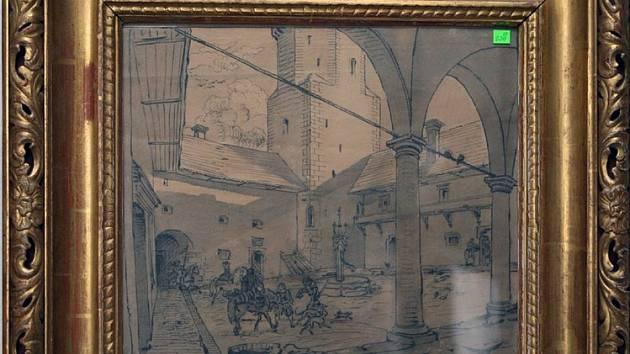 Předměty, které budou draženy při aukci v ostravském hotelu Brioni