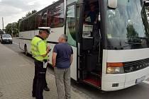 Dopravně-bezpečnostní akce v Moravskoslezském kraji.