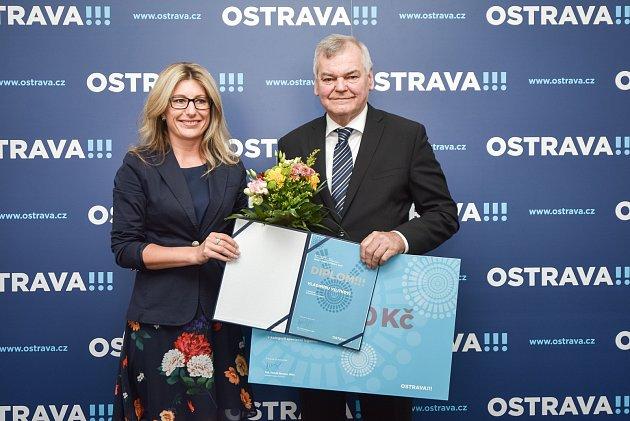 Sportovní legenda: hokejista Vladimír Vůjtek, 18. dubna 2018 v Ostravě.