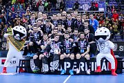 Superfinále play off Tipsport superligy - Technology florbal Mladá Boleslav - 1. SC TEMPISH Vítkovice, 14. dubna 2019 v Ostravě.