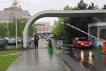 Ještě před rokem byl centrální příjem Fakultní nemocnice v Ostravě-Porubě nedokončený, a tím pádem málo funkční. Po roce je všechno jinak. Ilustrační foto.