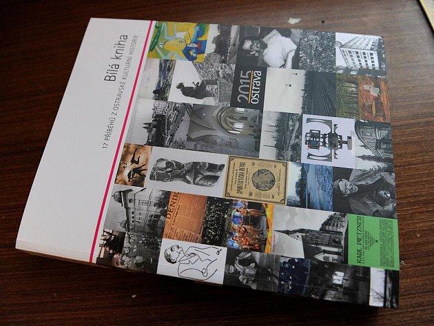 Bílá kniha ostravské kultury, která vznikla v rámci kandidatury Ostravy na titul Evropské hlavní město kultury 2015, měla v úterý večer křest ve Staré Aréně.