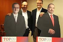 Nová strana TOP 09 v pátek zahájila svou předvolební kampaň v Ostravě.