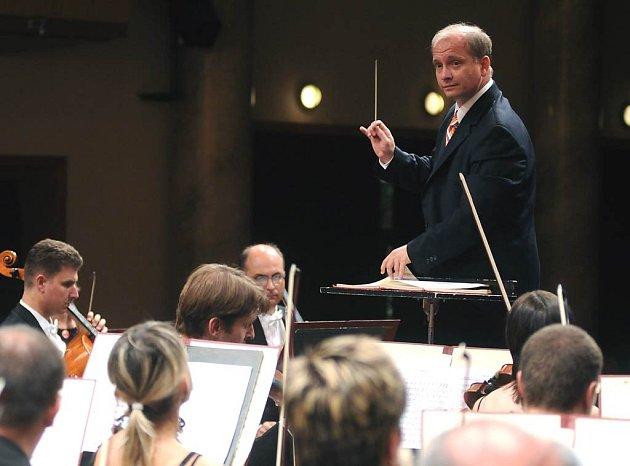 Janáčkova filharmonie s šéfdirigentem Theodore Kucharem