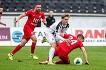 Fotbal fotbalová národní liga FC Votroci Hradec Králové  vs. MFK Vítkovice