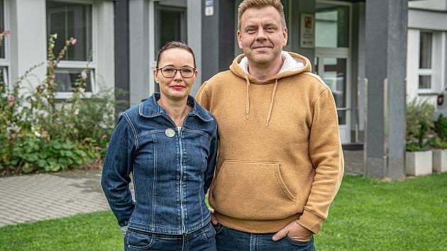 Zakladatelé anglické střední školy Monty School v Ostravě Alexandra a Petr Vidlákovi.