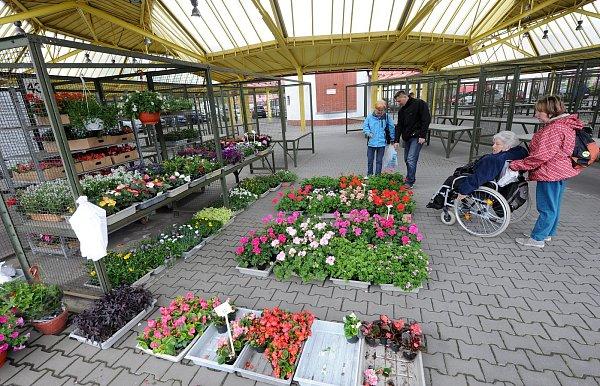 Tržnice vcentru Ostravy.