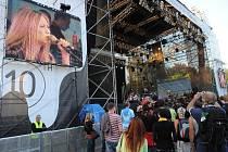 Desátý ročník festivalu Colours of Ostrava. Brendan Perry