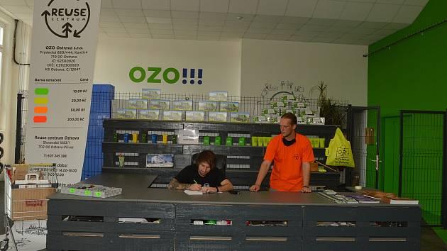 Reuse centrum Ostrava, Slovenská 1083/1, Ostrava - Přívoz
