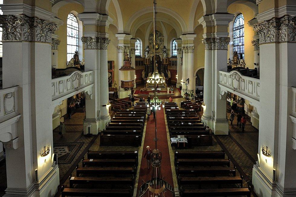 Noc kostelů ve farním kostele Panny Marie Královny v Ostravě-Mariánské Hory.