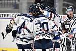 43. kolo hokejové extraligy mezi HC Vítkovice Ridera - HC Rytíři Kladno v Ostravě dne 2. února 2020. Na snímku radost Vítkovic.