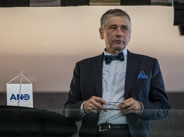 Hejtman Moravskoslezského kraje Ivo Vondrák.