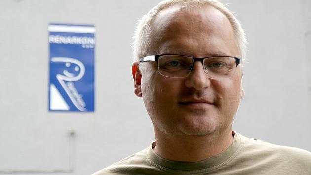Ředitel neziskové společnosti Renarkon Martin Chovanec.