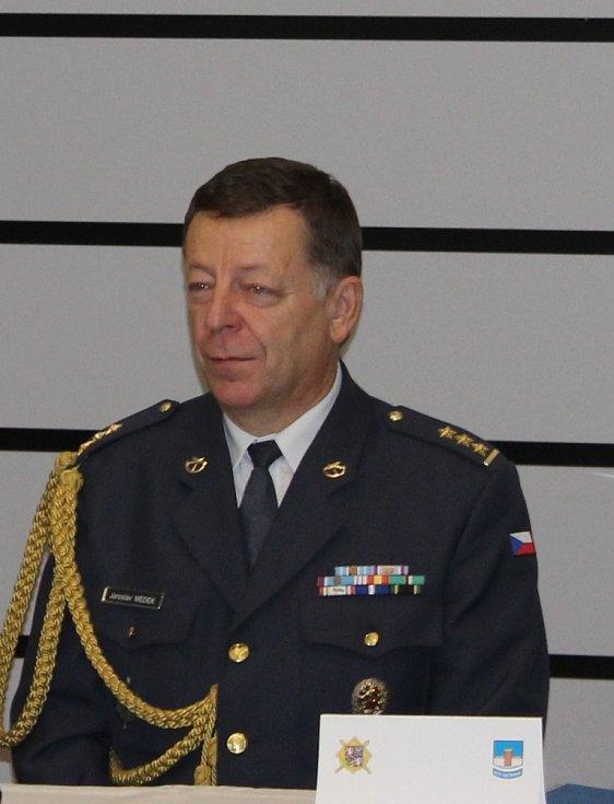 Ředitel KVV Ostrava plukovník Jaroslav Medek.