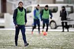 Zimní příprava FC Baníku Ostrava, 3. ledna 2019 v Ostravě. Na snímku (vlevo) Nemanja Kuzmanovič.