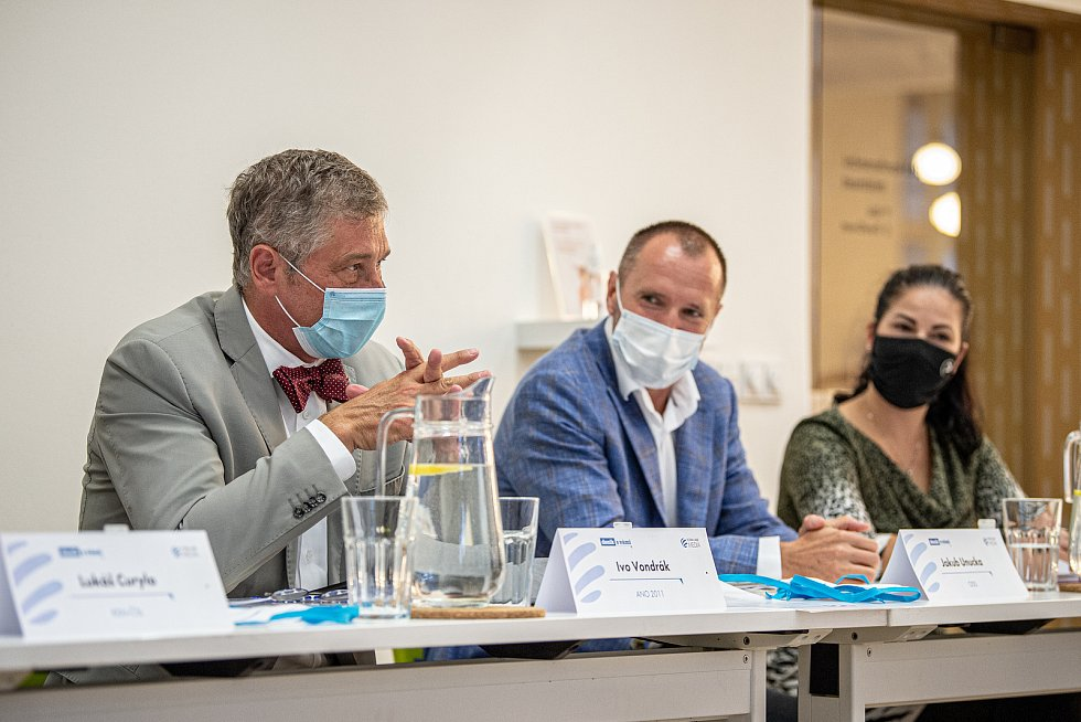 Debata Deníku, 25. září 2020 v Ostravě. Ivo Vondrák (ANO).