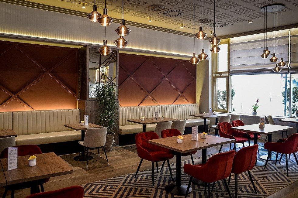 Restaurace La Brasserie - hotel Imperiál v Ostravě.