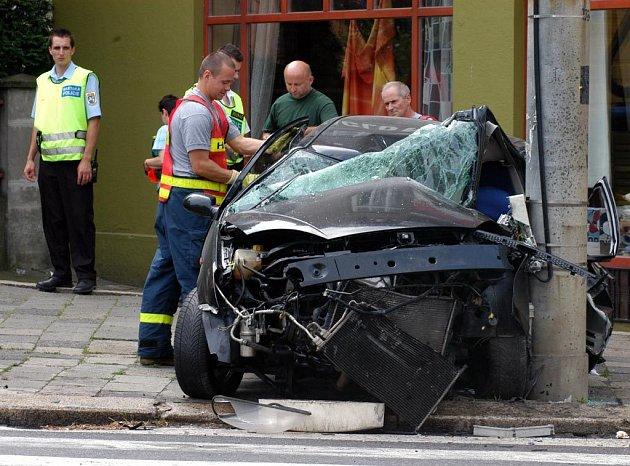 Havárie v Ostravě