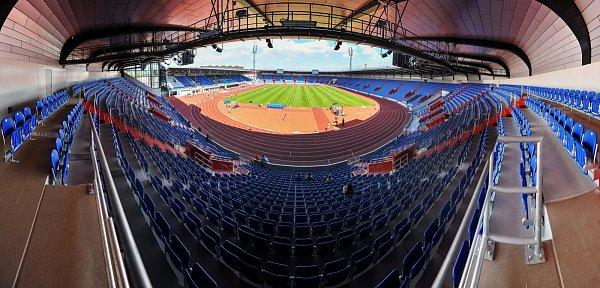 Městský stadion vOstravě-Vítkovicích. Ilustrační foto.