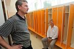 Otevření Vodního světa v ostravské Čapkárně. Zúčastnil se i primátor Petr Kajnar