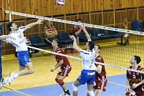Z utkání play-off mezi DHL Ostrava a Fatrou Zlín