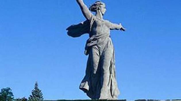 Symbol Volgogradu - monument Matka vlast