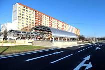 Ulice Dr. Martínka ve směru na Místeckou je znovu průjezdná. Snímek z úterý 24. listopadu.