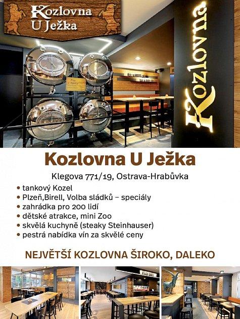 Kozlovna Uježka, Klegova 771/19, Ostrava