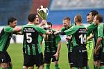 Pohár MěFS Ostrava vybojovali na ostravských Bazalech fotbalisté Odry Petřkovice.