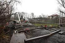 Nová zastávka by měla zjednodušit přístup veřejnosti ke Slezskoostravskému hradu.