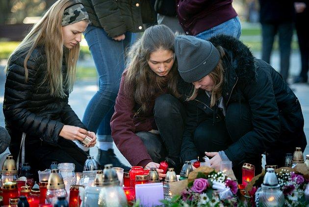 Den druhý po střelbě ve Fakultní nemocnici Ostrava (FNO), 11.prosince 2019vOstravě.