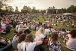 Festival v Ulicích 2018 na Slezskoostravském hradě, 29. června 2018 v Ostravě.
