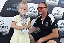 Ostravský automobilový závodník Miroslav Švec skončil druhý ve slovenském závodě mezinárodního okruhového mistrovství Histo Cup.