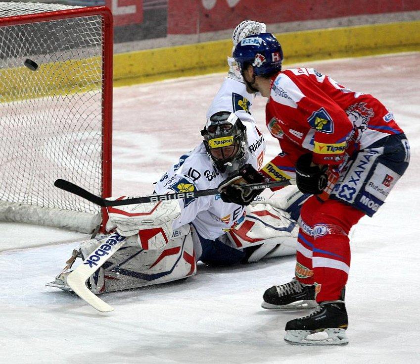 Z hokejového utkání HC Vítkovice Steel - HC Eaton Pardubice