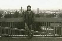 Ostravský rockový pamětník Chico na Bazalech v 80. letech.