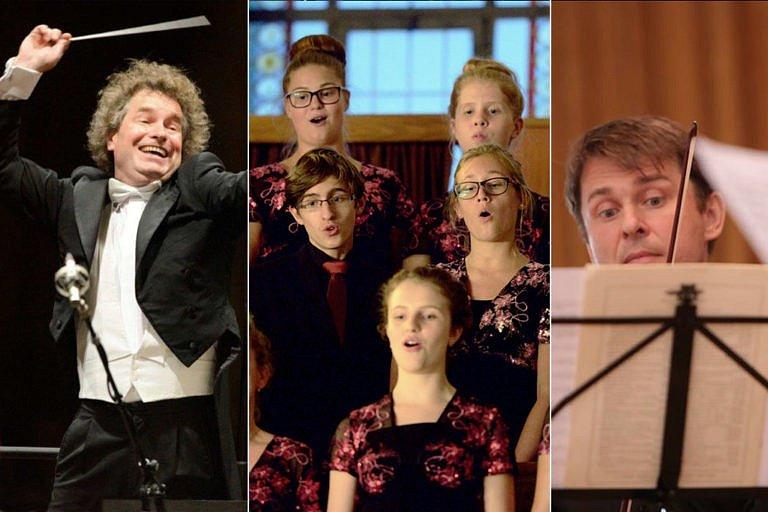 Nominace na hudební těleso roku: Janáčkova filharmonie, sbor Permoník a Benda Quartet