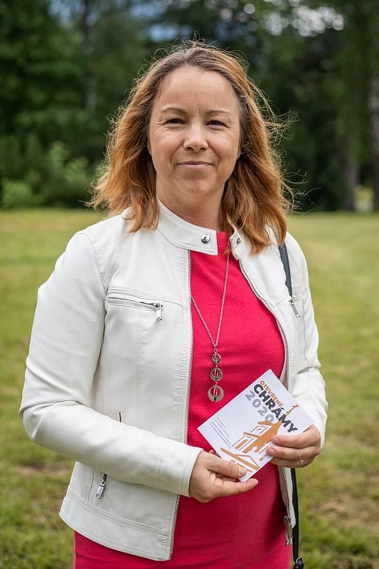 Michaela Šebelová při focení pro Deník, červenec 2020.