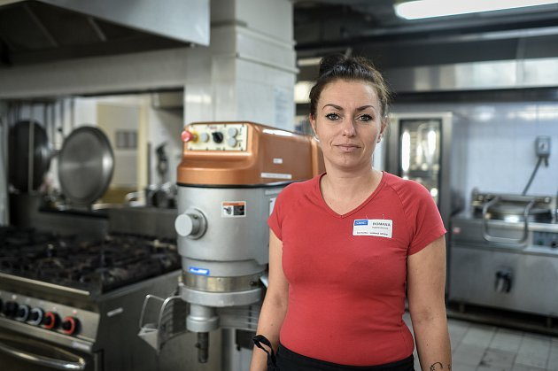 Kuchařka Romana Kocmánková.