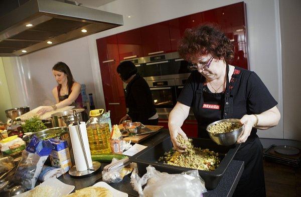 Jarka Bernatíková reprezentovala náš kraj zapékanou čočkou na zelenině.