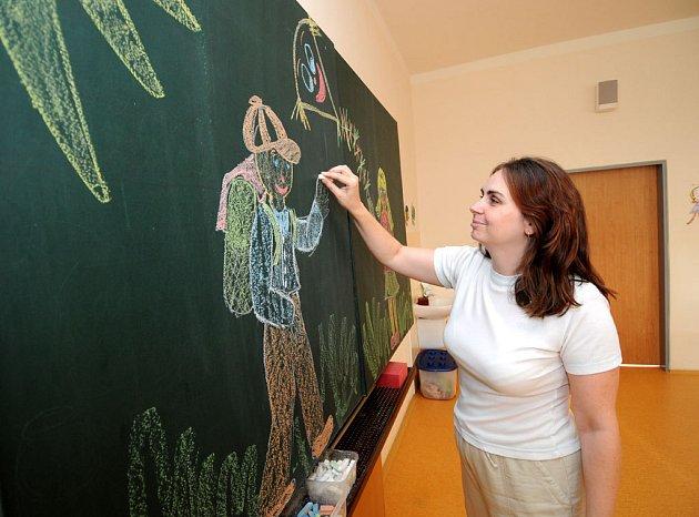 Ilustrační snímky z přípravy nového školního roku v Základní škole gen. Píky v Ostravě