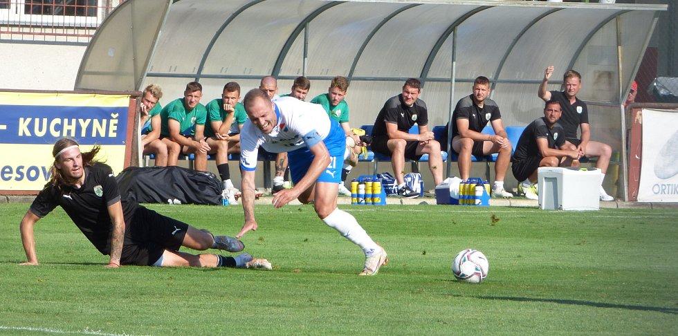 Fotbalisté Baníku Ostrava porazili ve středu slovenskou Skalici 2:1.