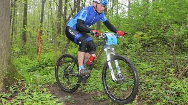 Testovat kondici bude na domácí trati stejně jako loni také ostravský biker Tomáš Veselý, který jezdí za stáj 4ever Cyklo Bulis.